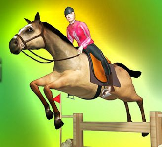 Horse Jumping Competition Game