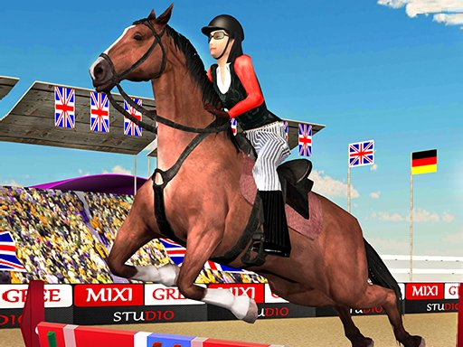 Horse Jumping Show 3D New Game