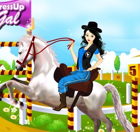 Horse Jumping  Dress Up Game