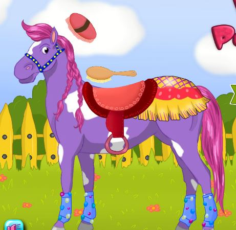 Horse Pet Care Game