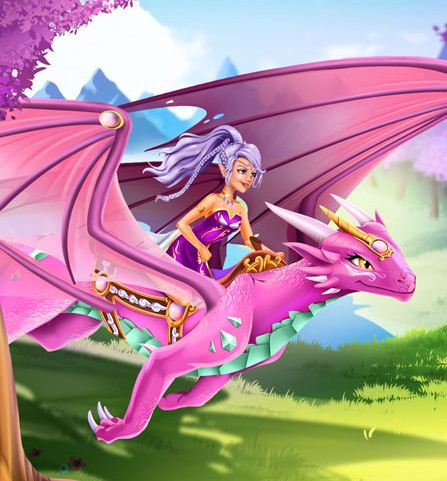 Lego Elves Dragon Care Game
