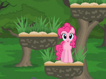 Little Pony Jumping Adventure Game