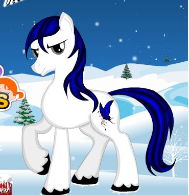 Little Pony Winter Makeup Game
