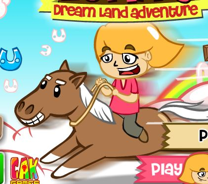 Luna Horse Dream Land Adventure Game