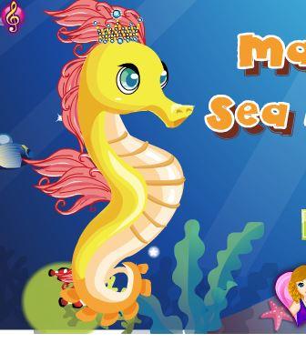Magic Seahorse Game