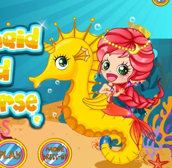 Mermaid And The Seahorse Game