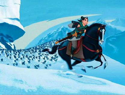 Mulan Riding Puzzle Game