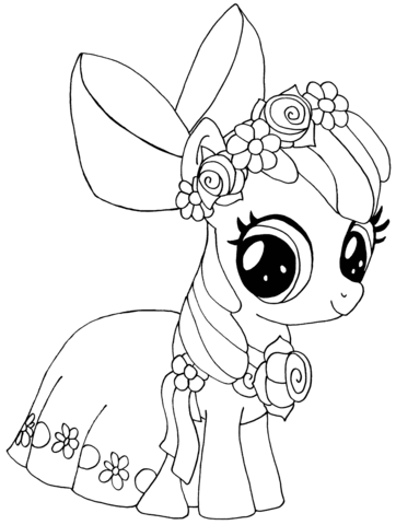 My Little Pony Apple Bloom from My Little Pony Game