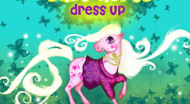 My Little Pony Baby Horse Dress Up Game