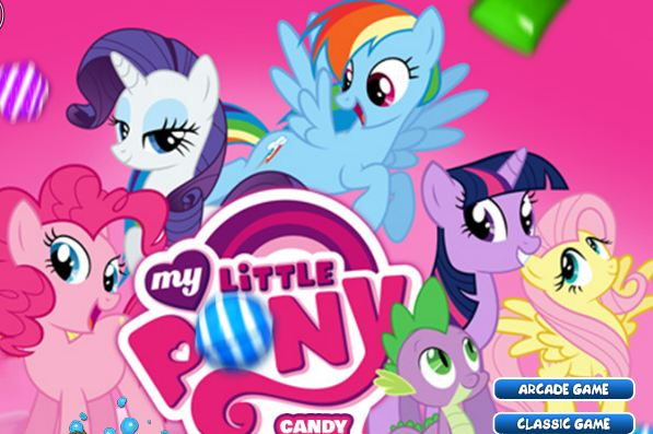 My Little Pony Candy Shooter Game