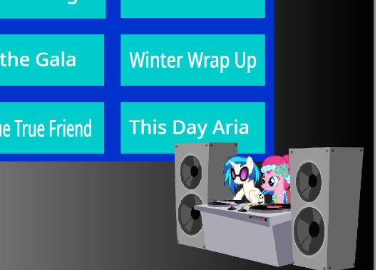 My Little Pony Djpon3 Music Mix Game