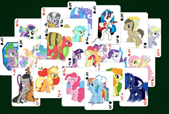 My Little Pony Double Solitaire Game