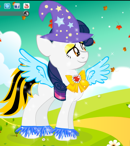 My Little Pony Dress Up 2 Game