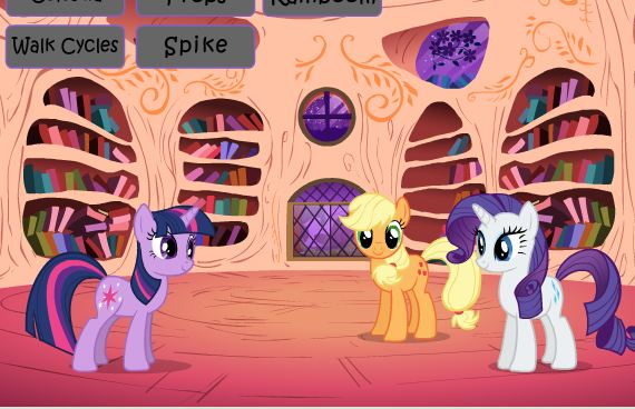 My Little Pony Flash Resource Kit Version Game