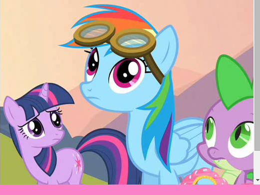 My Little Pony Friendship Express Train Puzzle Adventure Game