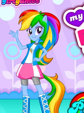 My Little Pony Hair Design Game