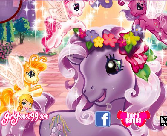 My Little Pony Hidden Letter Game