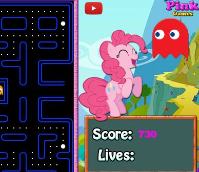 My Little Pony Pac Man Game