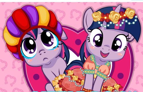 My Little Pony Prom Makeup Game