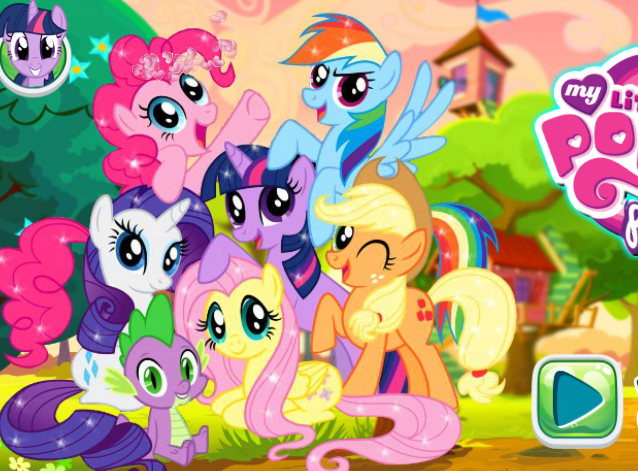 My Little Pony Puzzle 2 Game