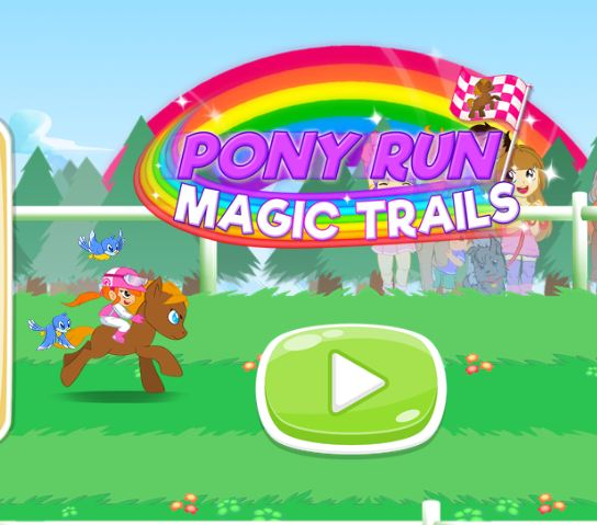 My Little Pony Run Magic Trials Game