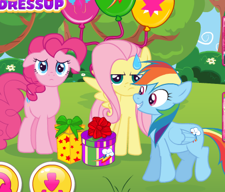 My Little Pony Surprise Party Game