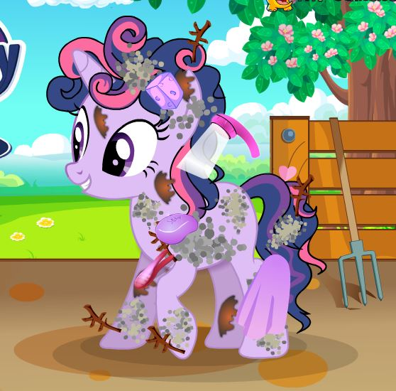 My Little Pony Twilight Sparkle At Farm Game