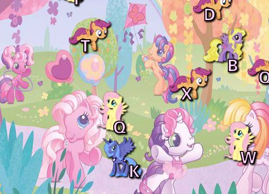 My Little Pony Typing Game