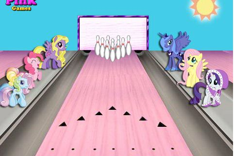 My Little Pony Bowling Game