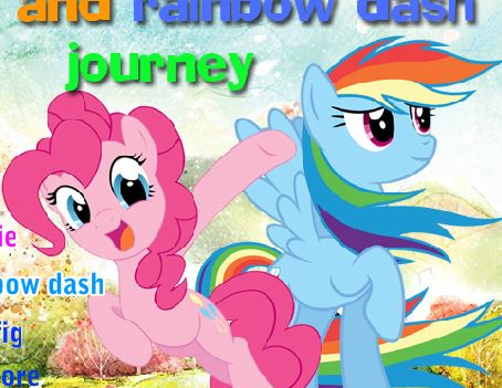 Pinkie And Rainbow Dash Journey Game