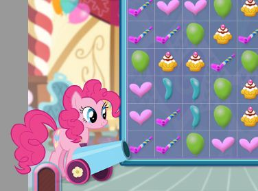 Pinkie Pie Cannon Blast Game
