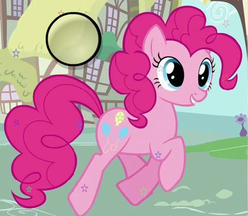 Pinkie Pie Hidden Stars Game