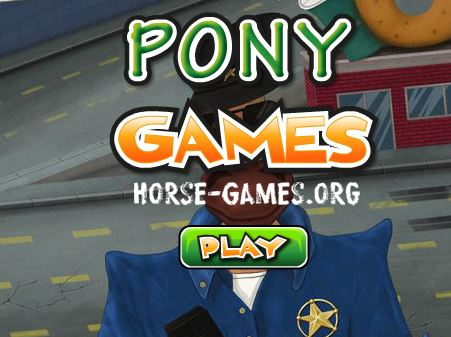 Policeman Horse Puzzle Game