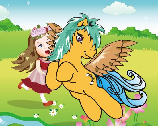 Pony Dress Up 2 Game