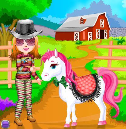 Pony Friend Game