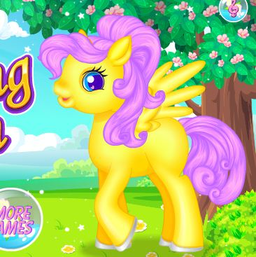 Pony Grooming Salon Game