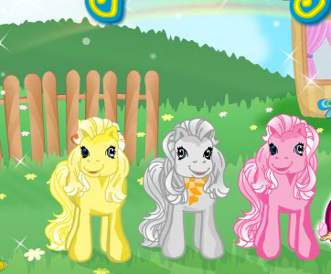 Pony Kindergarden Game
