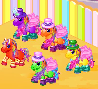 Pony Land Game