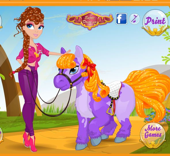 Pony Lover Spa Day Game