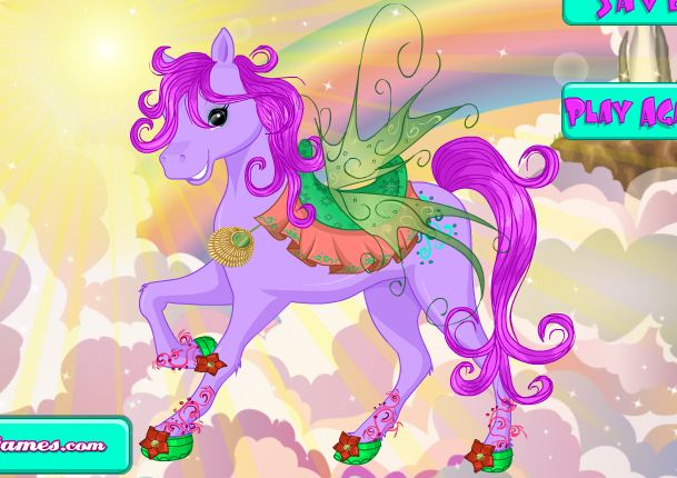 Pony Parade Dressup Game