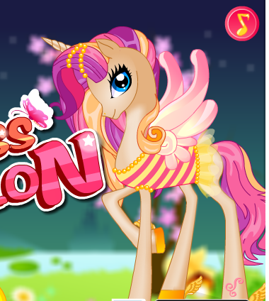 Pony Princess Spa Salon Game