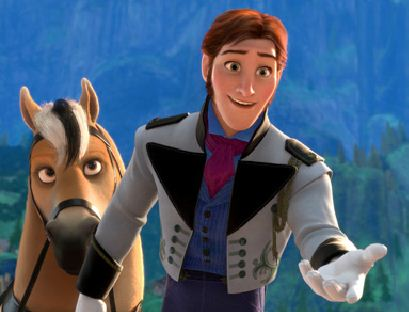 Prince Hans and Horse Puzzle Game