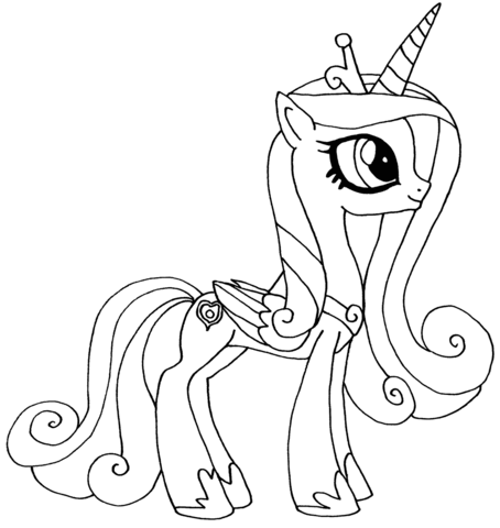 Princess Candance from My Little Pony Game