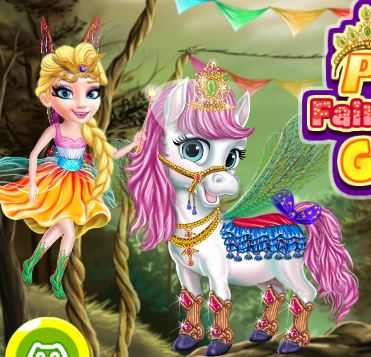 Princess Fairytale Pony Grooming Game