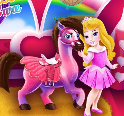 Princess Pony Caring Game