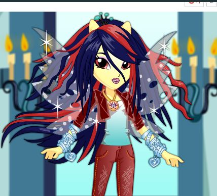 Queen Chrysalis Dress Up Game