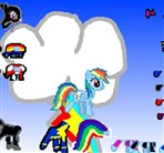 Rainbow Dash Crazy Styles Game