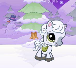 Snowy Pony Game