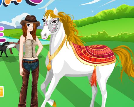 Tessa's Horse Game