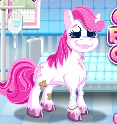 The Cute Pony Care 2 Game